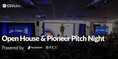 GSVlabs Open House & Pitch Night tickets
