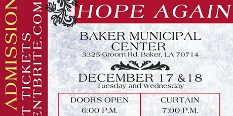 Hope Again tickets