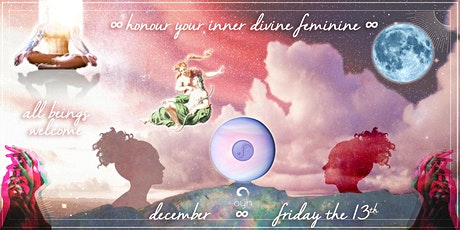 ☾ Align with Your Inner Soul-Mate ~ Friday the 13th Full Moon Gathering ✩ tickets