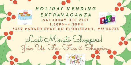 Holiday Vending Extravaganza tickets