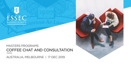 ESSEC Specialised Masters Coffee Chat Dec 2019 - Melbourne tickets