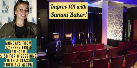 Improv 101 Mondays with Sammi Baker tickets