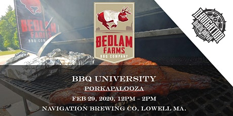 Bedlam Farms BBQ University: Porkapalooza tickets