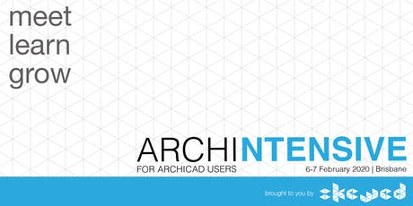 ARCHINTENSIVE for ARCHICAD users tickets