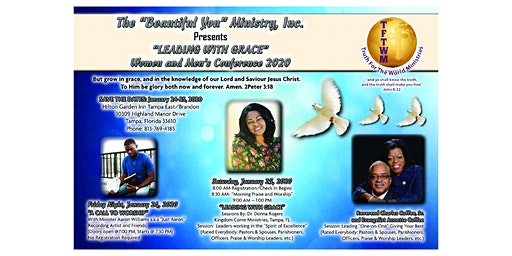 """""""Leading With Grace"""" Women and Men's Conference 2020"""