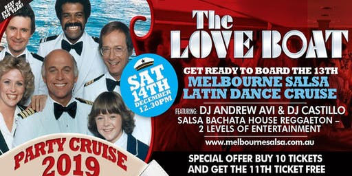 THE LOVE BOAT Latin Dance Cruise 2019 - Best event of the year!