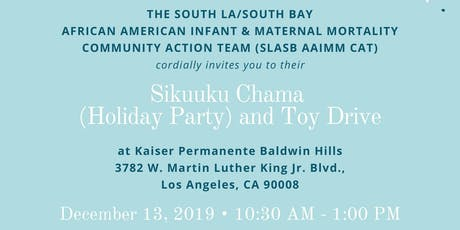 SLA/SB AAIMM CAT Sikuuku Chama (Holiday Party) and Toy Drive tickets