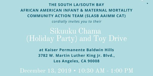 SLA/SB AAIMM CAT Sikuuku (Holiday Party) and Toy Drive
