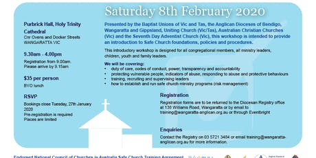 Safe Church Training - Wangaratta 8 February 2020 tickets
