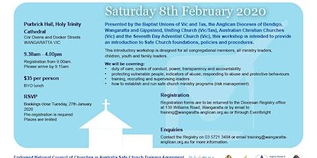 Safe Church Training - Wangaratta 8 February 2020 tickets