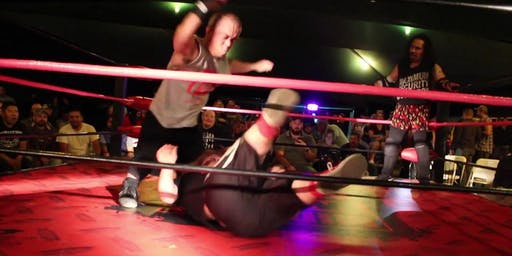 The Midget wrestling show @ Stereo garden Music by DJ hot rod