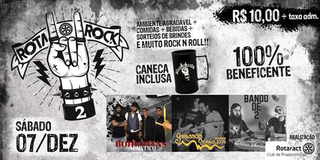 2º Rotarock ingressos