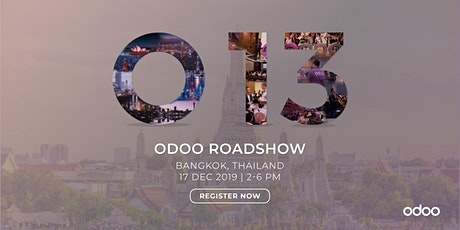 Odoo 13 Tour - Bangkok tickets