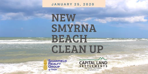 New Smyrna Beach Clean Up by CLS and SRG