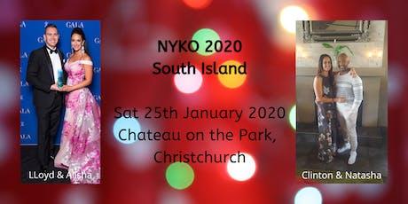 NYKO South Island tickets