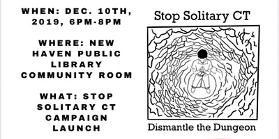 Stop Solitary CT Campaign Launch
