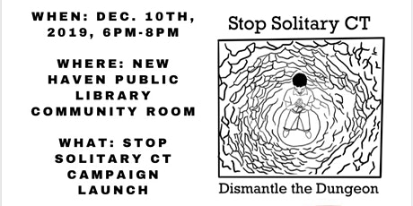 Stop Solitary CT Campaign Launch tickets