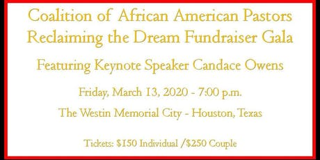 CAAP Reclaiming the Dream Fundraiser Gala tickets