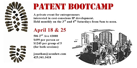 April Seattle Patent Bootcamp™ tickets