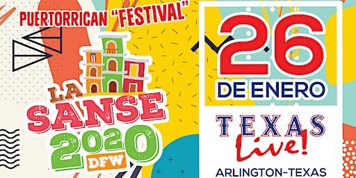 Oferta Especial de Pre-Venta:Fiestas de la Sanse DFW 2020- Texas Live !