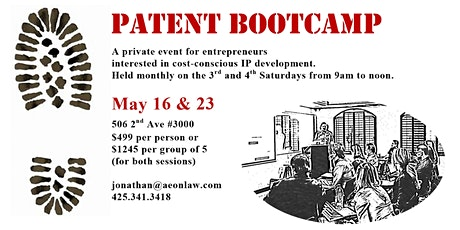 May Seattle Patent Bootcamp™ tickets