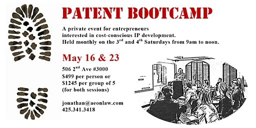 May Seattle Patent Bootcamp™