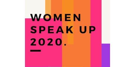 Women Speak UP 2020 tickets