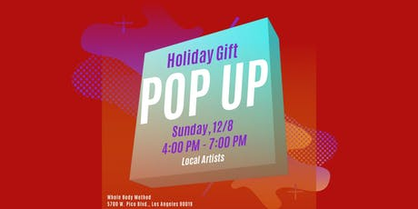 Holiday Gift POP UP tickets