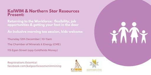 KalWIM & Northern Star Resources Present: A return to work morning tea