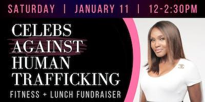 Celebs Against Human Trafficking Fitness Fundraiser