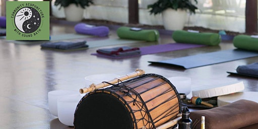 Community Acupuncture and Sound Bath Sunday 29th December 2019