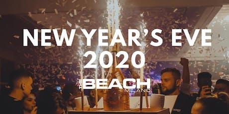 CAPODANNO @ THE BEACH MILANO (Dinner Show / Gran Buffet/ Disco) ✆3491397993 biglietti