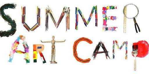 Summer Art Camp  (Ages 5 - 12)