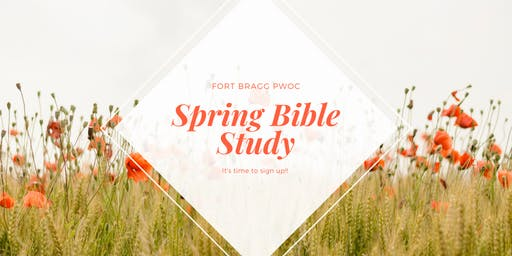 Spring Bible Study Registration