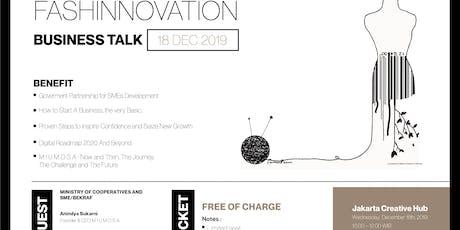 FASHINNOVATION: Business Talk tickets
