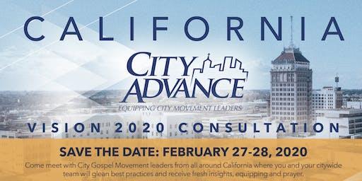 California City Advance Vision 2020 Consultation