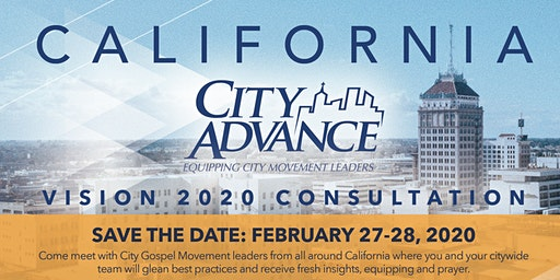 California City Advance Vision 2020 Consultation