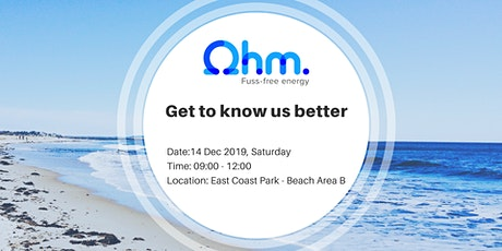 Join Ohm Energy @ Clean Up East Coast Park and get to know us better tickets