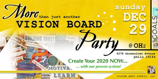 More Than Just Another VISION BOARD Party!