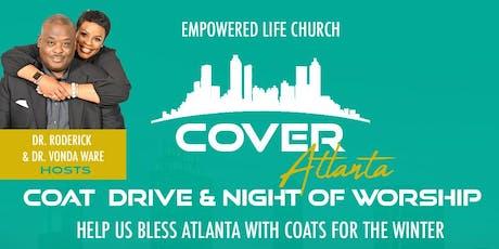 Cover Atlanta Coat Drive & Night of Worship | Special Guest:  Anita Wilson tickets