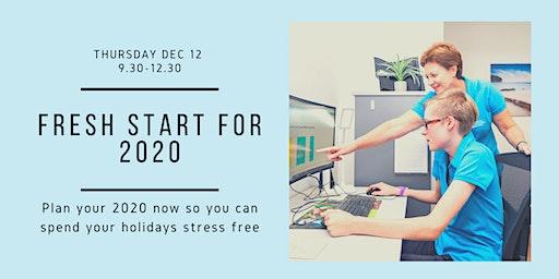 Fresh Start For 2020