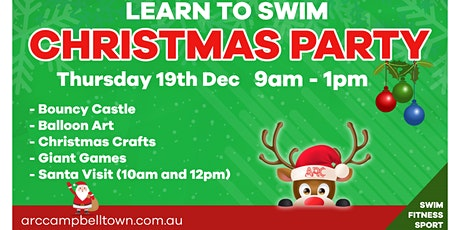 ARC Learn To Swim Christmas Party tickets