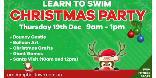 ARC Learn To Swim Christmas Party