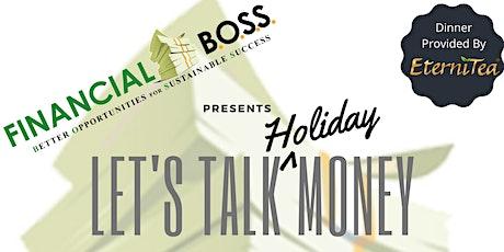 LET'S TALK MONEY W/ FINANCIAL BOSS tickets