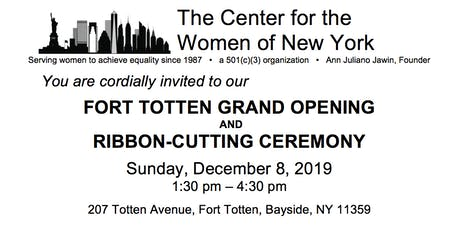 Center for the Women of New York Grand  Opening & Ribbon Cutting tickets