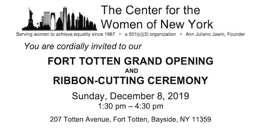 Center for the Women of New York Grand  Opening & Ribbon Cutting