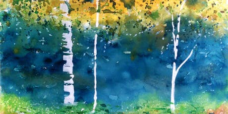 Beginning Watercolor Workshop with Chris Blevins - Stand of Trees tickets