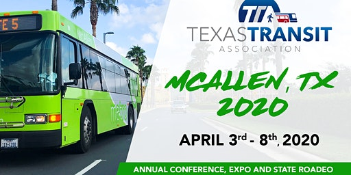 Texas Transit Association Conference, Expo & State Roadeo Attendee Registration