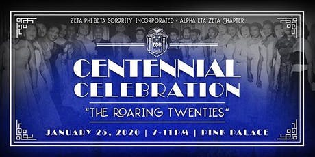 Roaring 20s Centennial Celebration Hosted by the Memphis Zetas! tickets
