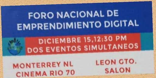 FORO NACIONAL DE EMPRENDIMIENTO DIGITAL